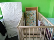 Cot and mattress excellent condition